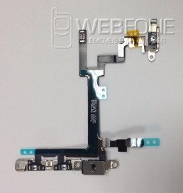 Iphone 5G - ON/OFF Cabo flex com metal plates OEM