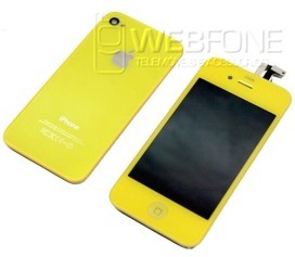 Display + Back cover Amarelo