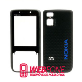Capa Nokia 5610 Azul e Preto