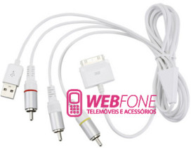 Cabo de Liga��o TV Iphone, Ipod