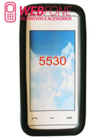 Bolsa Silicone Nokia 5530