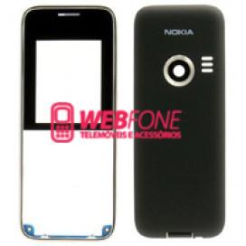 Capa Nokia 3500 Cinza e Preto