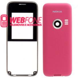 Capa Nokia 3500 Azul e Rosa