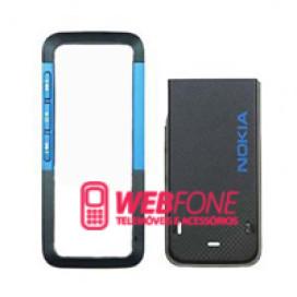 Capa Nokia  5310 Azul e Preto