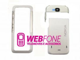 Capa Nokia 5310 branco e cinza