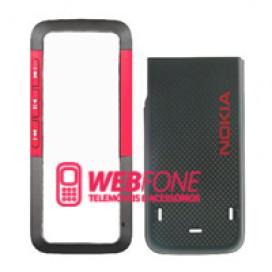 Capa Nokia 5310 Vermelho e Preto