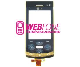 Capa LG KF750 Dourado
