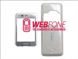 Capa Nokia N82 Cinza