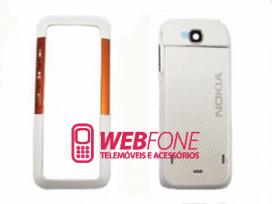 Capa Nokia 5310 Branco e Laranja