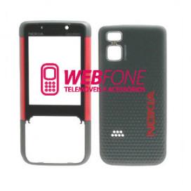 Capa Nokia 5610 Vermelho e Preto