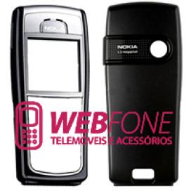 Capa Nokia 6230 e 6230i cinza e preto