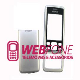 Capa Nokia 6300 Cinza