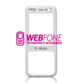 Capa Frontal Nokia N73 Branco