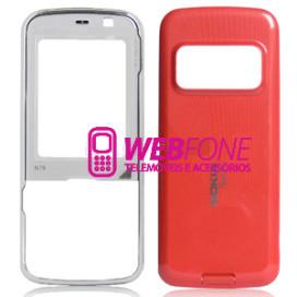 Capa Nokia N79 Vermelho