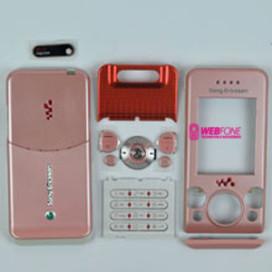Capa Sony Ericsson W580 Rosa
