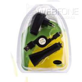 Carregador 3 em 1 Mini USB