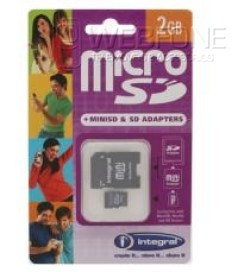 Cart�es Memoria Micro SD 2Gb
