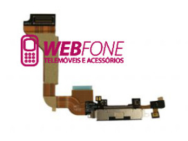 Conector Carga iPhone 4 Branco