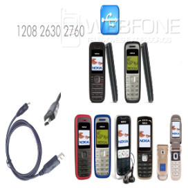 Cabo Dados Nokia 2630,2760,1680,etc