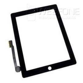Ipad 3 - Front Glass Digitizer com 3M Adhesive Preto