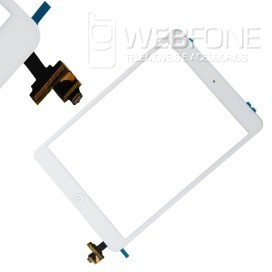 Ipad Mini - Front Glass Digitizer With IC e Home Button + 3M Adh