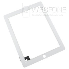 Ipad 2 - Front Glass Digitizer com 3M Adhesive Branco