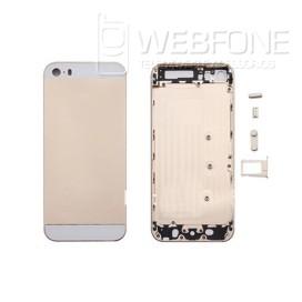 Iphone 5S - Capa traseira e quadro Dourada