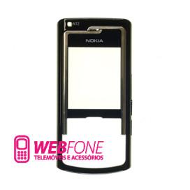 Capa Frontal Nokia N72 Preto
