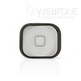 Iphone 5G - Plastico bot�o Home com rubber Branco