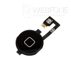Iphone 4G - Bot�o Home flex cabo + bot�o Home OEM Preto