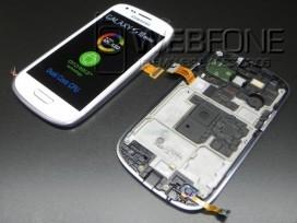 Samsung S3 mini i8190 Lcd + Touch Branco