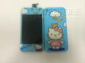 Display + Back cover Hello kitty