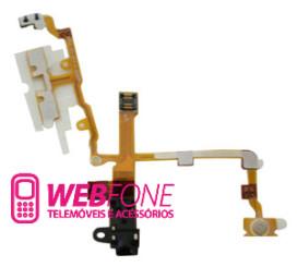 Cabo Flex Earphone Iphone 3g Preto