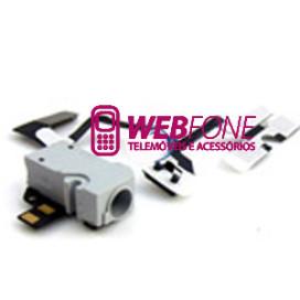 Conector Auricular iPhone 4 Branco