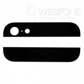Iphone 5G - Bottom e Top back glass Preto