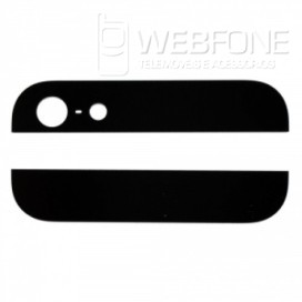 Iphone 5S - Bottom e Top back glass Preto