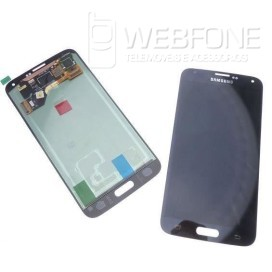 Full Front LCD Digitizer S5 G900F Azul
