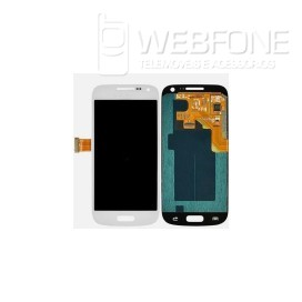 Full Front LCD + Front Glass Digitizer S5 Mini G800F Branco