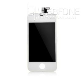 Iphone 4G - LCD Digitalizador Branco (original remaded)