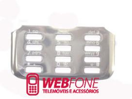 Marco Teclado Nokia N82 cinza