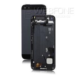 Iphone 5G - Capa traseira e quadro completa montagem Preto