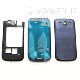 Samsung S3 - Quadro m�dio chassis e capa bateria Azul