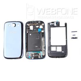 Samsung S3 - Quadro m�dio chassis e capa bateria Branco