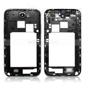 Samsung Note 2 - Quadro m�dio chassis Cinza