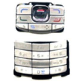 Teclado Nokia N80 Cinza