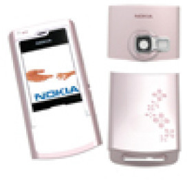 Capa Nokia N72 Rosa
