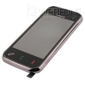 Capa Frontal Nokia N97 Mini + Touchscreeen Preto