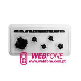 Kit Bot�es PSP 1000 Preto