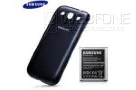 Bateria Samsung SIII i9300 3000mAh + Capa Traseira Original Azul