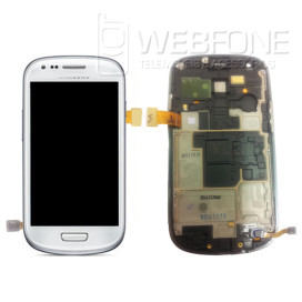 Display com frame S3 Mini I-8190 Branco